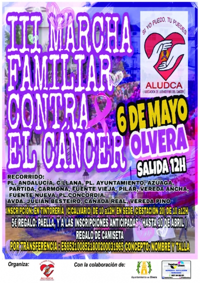 III Marcha familiar contra en cáncer