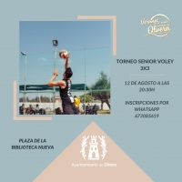 Torneo senior voley 3x3