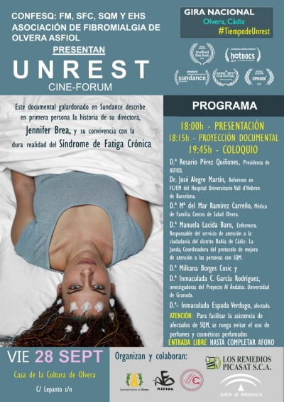 Proyección documental UNREST